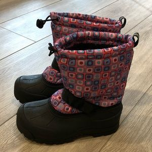 Northside Snow Boots Kids Youth Size 4
